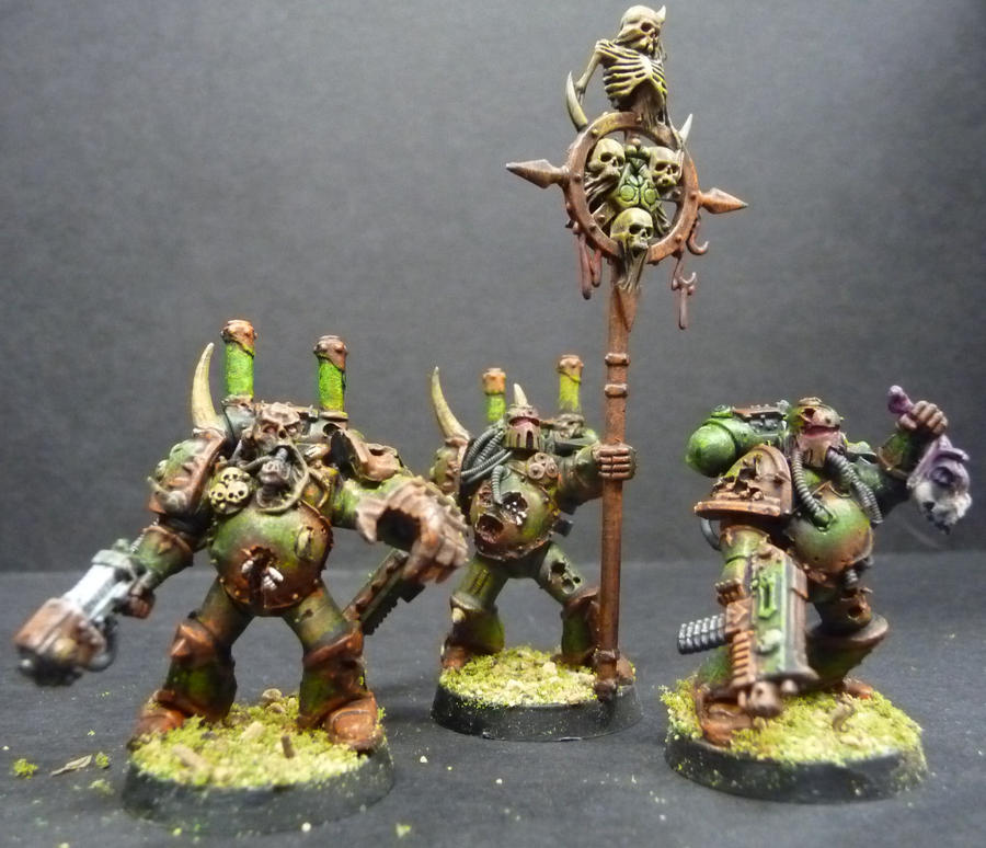 Custom Plague Marines 2 by Solav