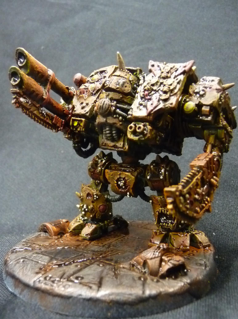Death guard Dreadnought by Solav