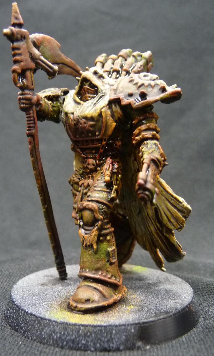 Primarch Mortarion by Solav