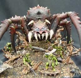 Arachnarok Blackwidow on base
