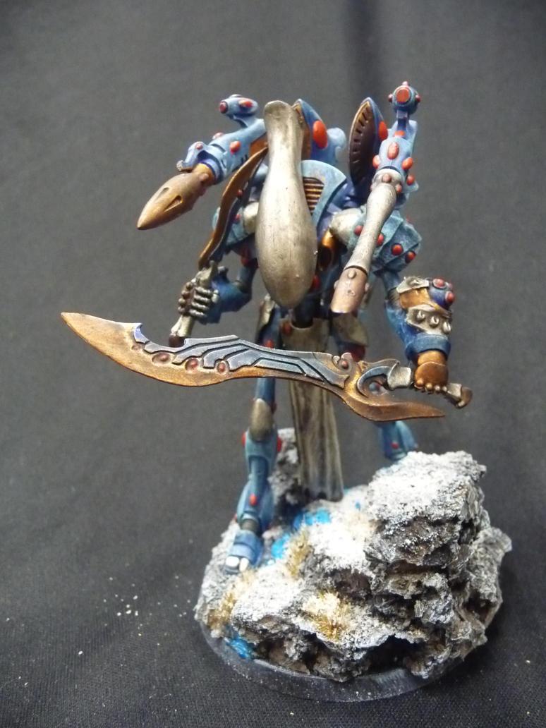 WraithLord Patrol by Solav