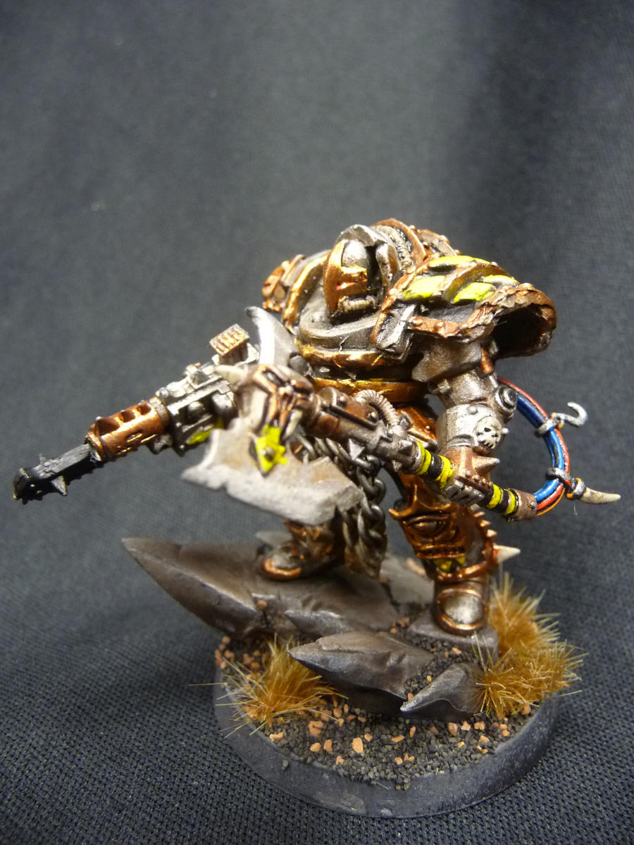 Iron warrior terminator lord by Solav