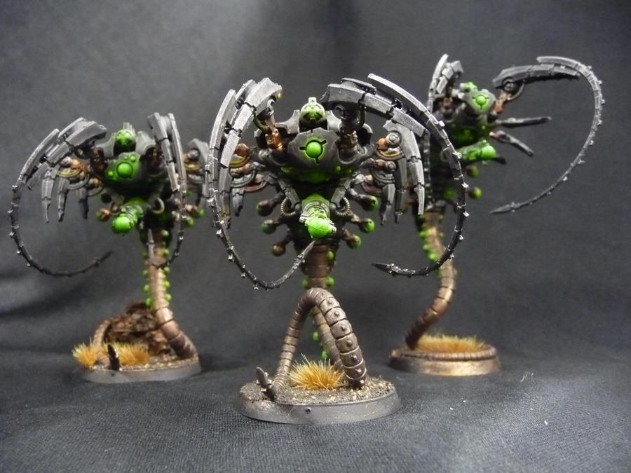 Canoptek Wraiths by Solav