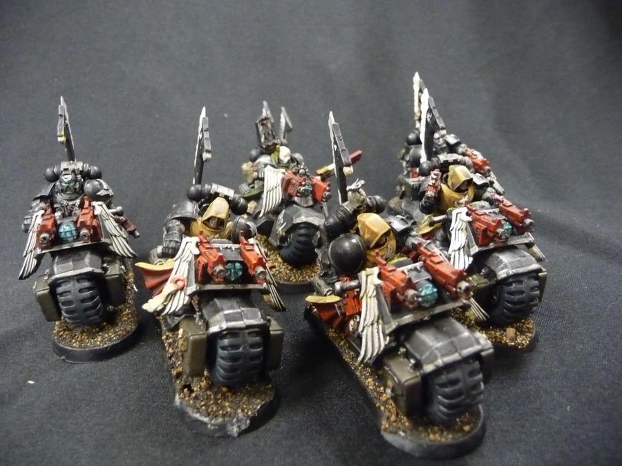 Ravenwing Squad by Solav