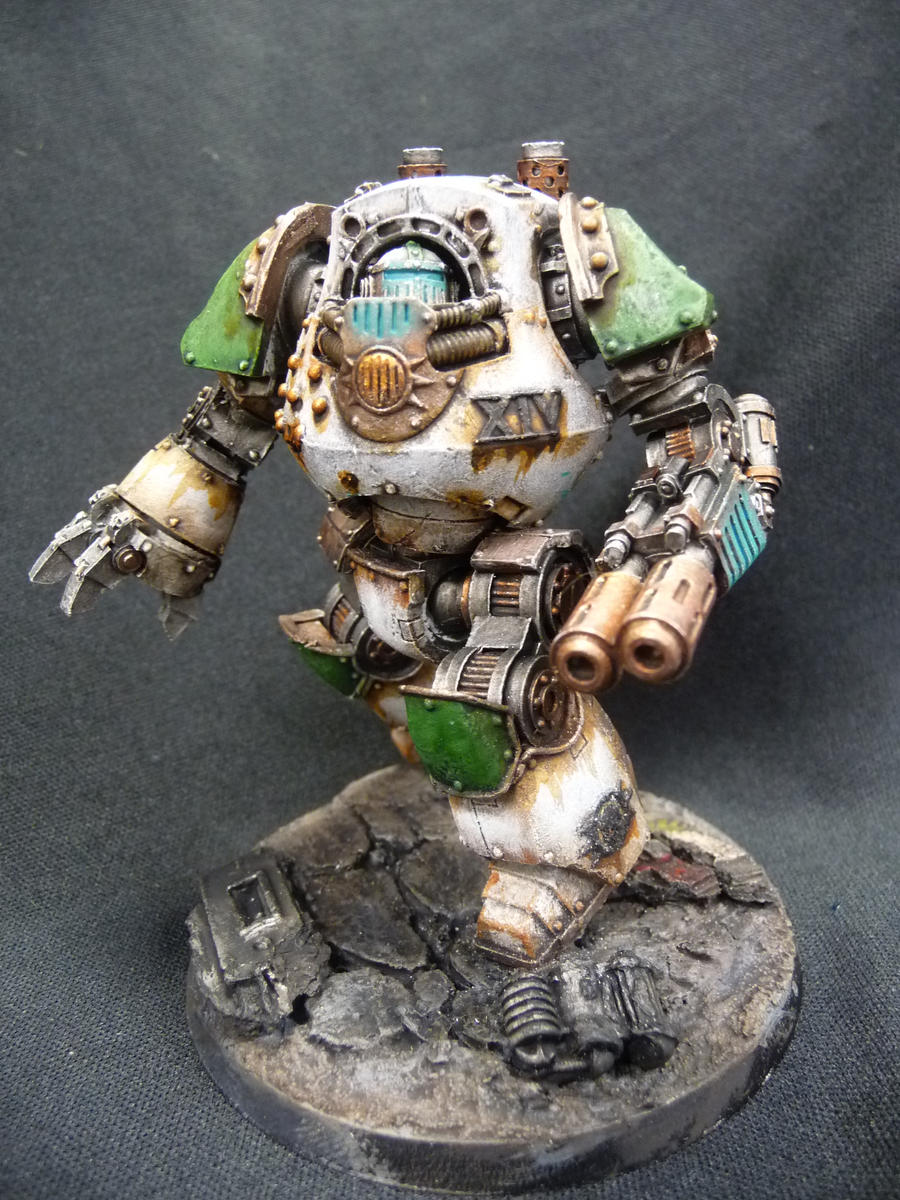Death Guard Contemptor: Brother Fitore by Solav