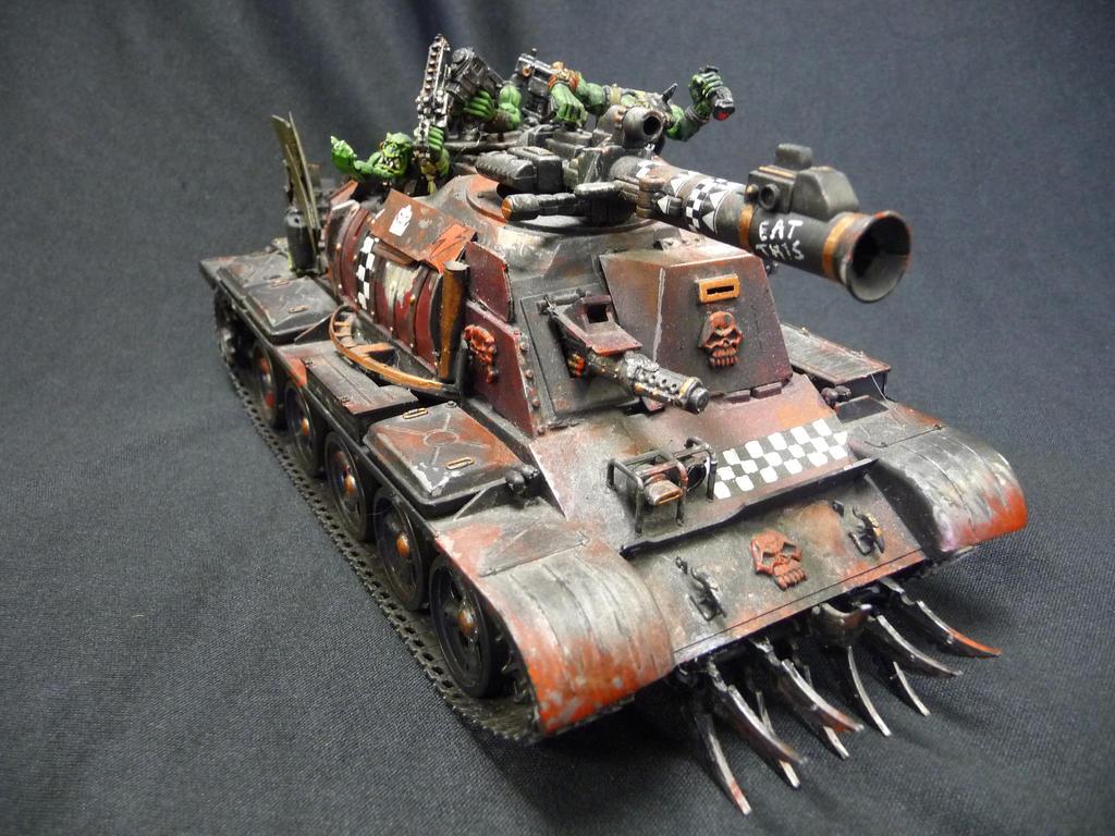 custom Battlewagon 2 by Solav