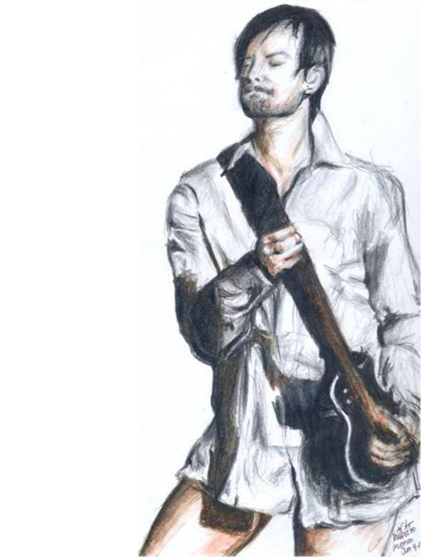David Cook - Guitar Hero by raymundpecho