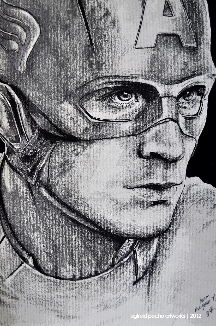 Captain America by raymundpecho