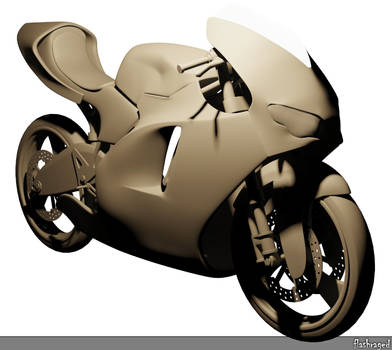 Ducatti Desmosedici RR Untextured by FlashRaged