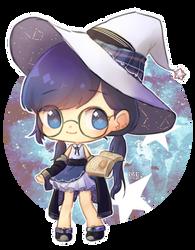 Witchsona time GO by Byebi