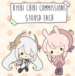 Chibi commissions open