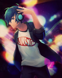 Persona 3 D A N C E by Byebi