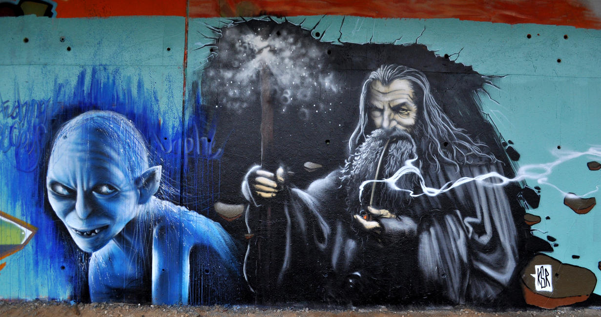 Gandalf the grey by ksrp2v