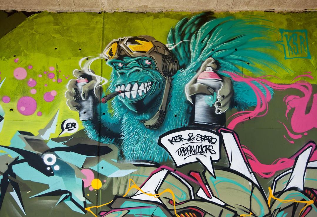 Monkey Buissness by ksrp2v