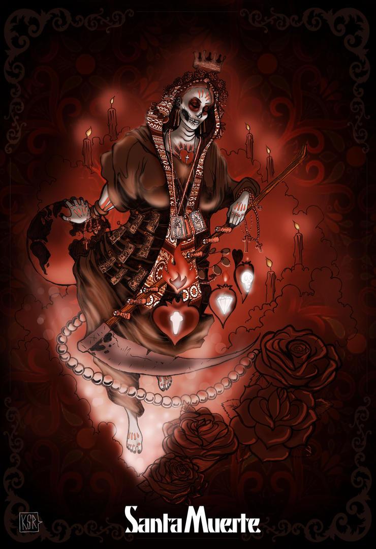 Mi santa muerte by ksrp2v