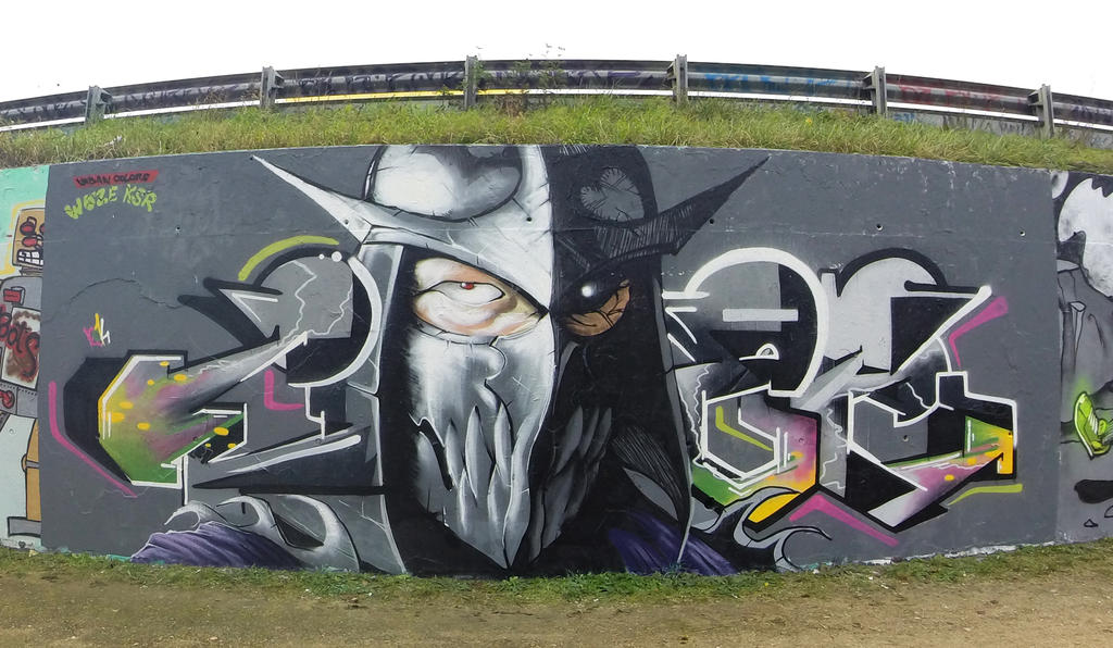 Shredder in da street by ksrp2v
