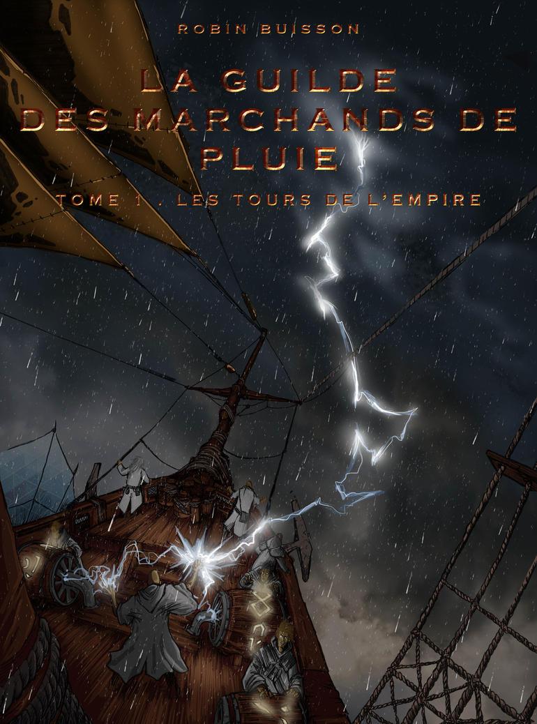 Cover La Guilde des marchands de pluie by ksrp2v
