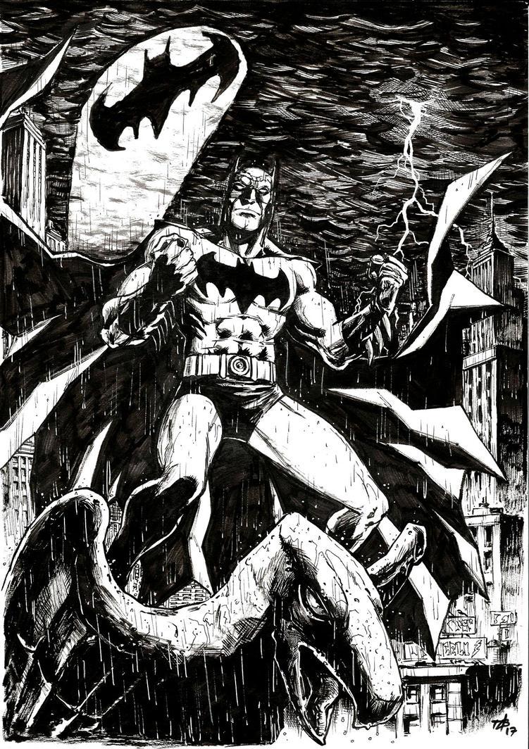 Dark Knight by toze-barnabe