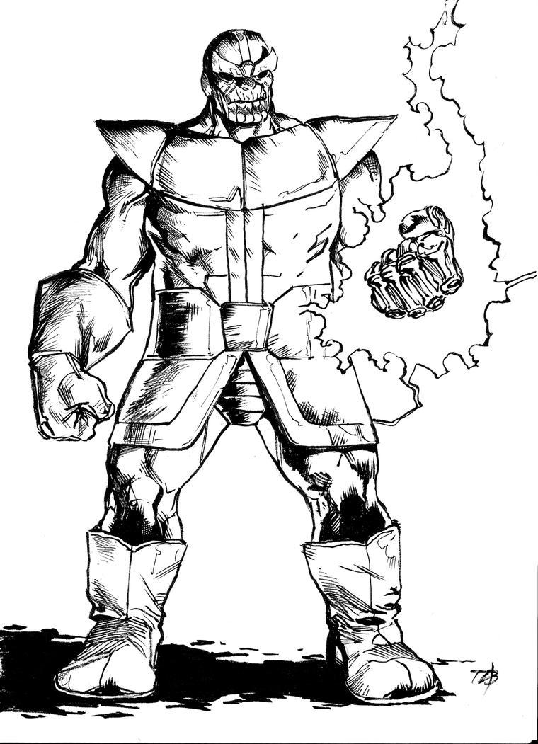 Thanos by toze-barnabe