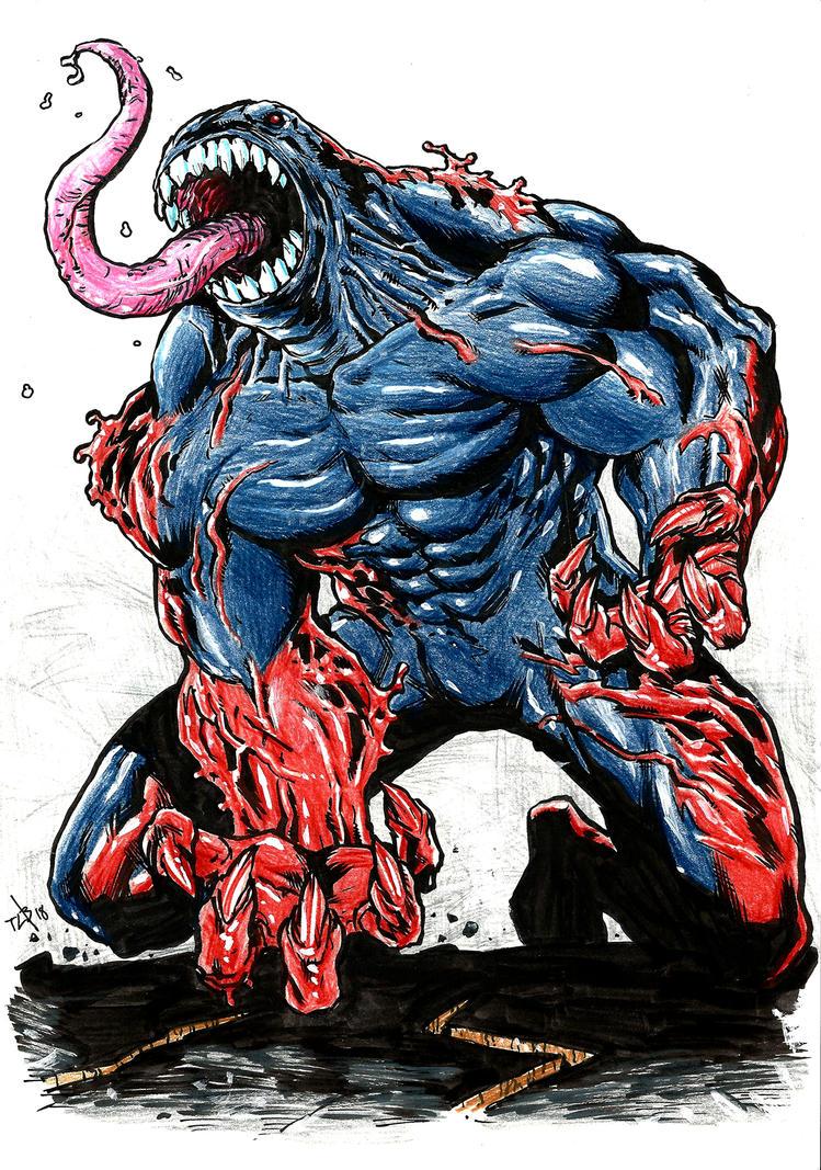 Carnage Venom by toze-barnabe