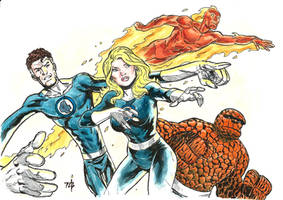 Fantastic-four by toze-barnabe