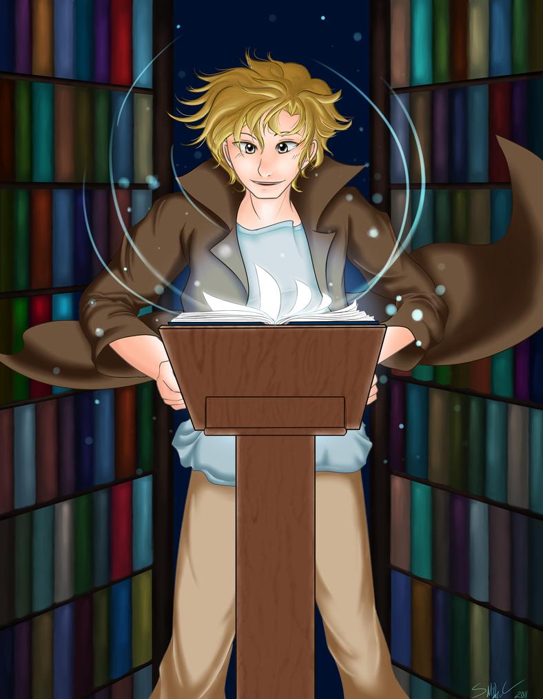 Fox - Book Magic by kabocha