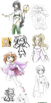 More Doodles by kabocha