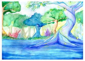 Crystal Tree by kabocha