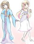 CC - Princesses Moonbeam and Sunbeam