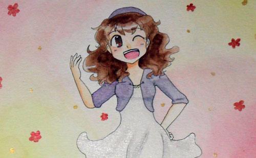 Chloe Watercolor by kabocha