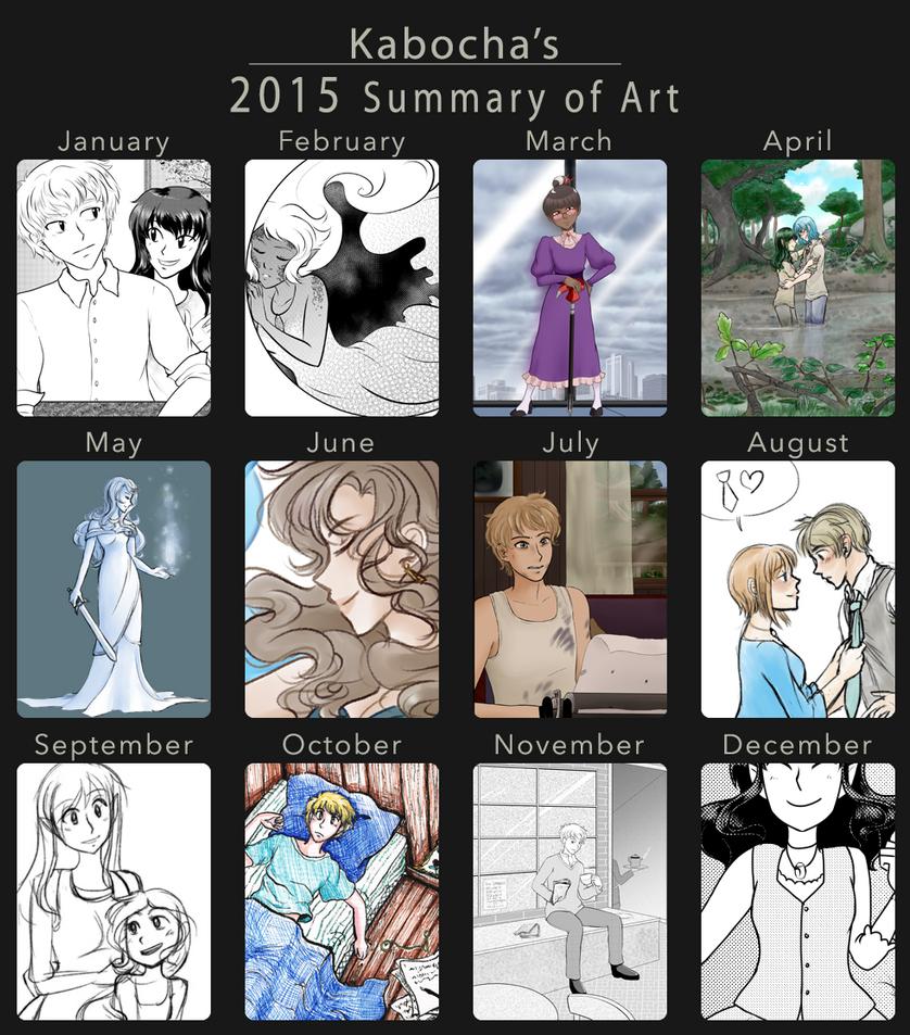 2015 Summary of Art by kabocha