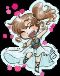 Dancin' Chibi Aria by kabocha
