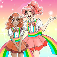 Confectionists Sienna and Coral by kabocha