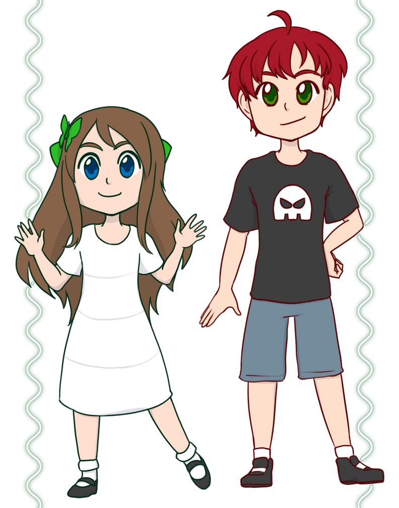 Grace and Tyler by kabocha