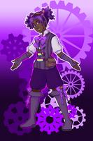 Steampunk-ish Floressa by kabocha