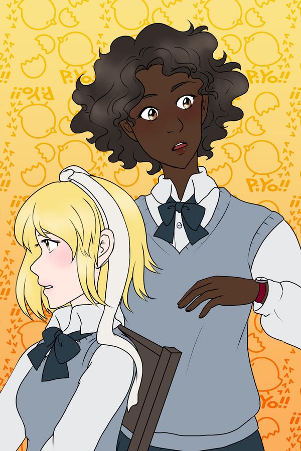 Izzy and Keiko by kabocha