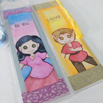 Bookmarks for Aureperi by kabocha