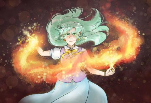 Arina - Fire by kabocha