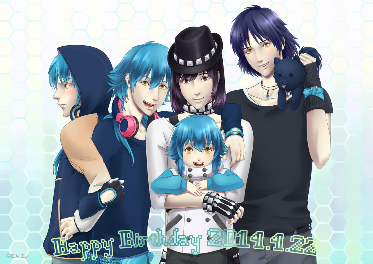 Happy Birthday 4.22 by Elle-Rei