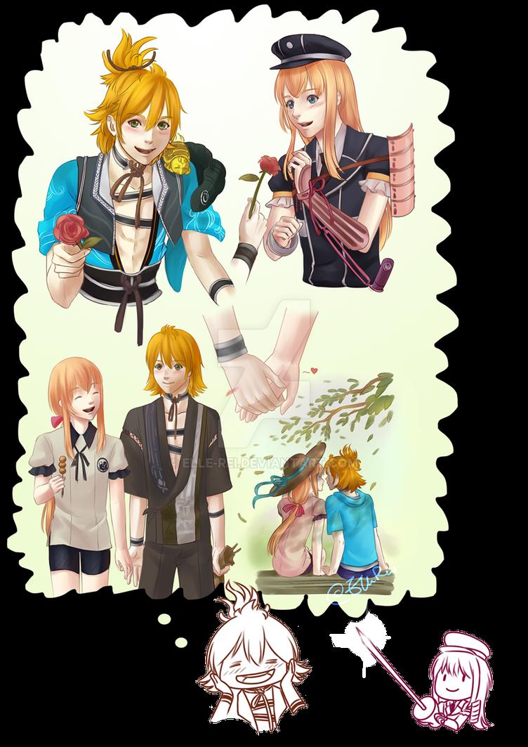 Sketch Page: Urashima Midare by Elle-Rei