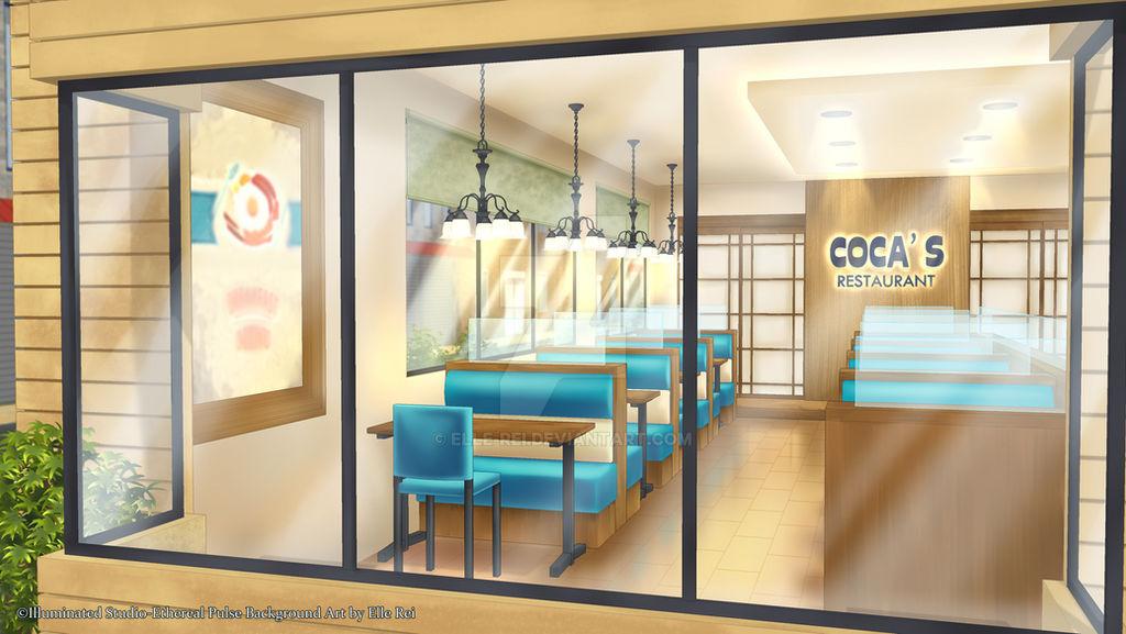 :CM: Family Restaurant by Elle-Rei