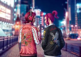 Octo Girls by Elle-Rei