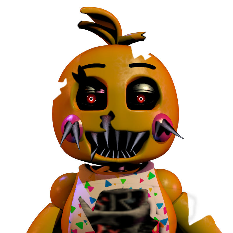 Chica Toy Chica Favourites By Goldenafro On Deviantart: Nightmare Toy Chica By Kingofbut On DeviantArt