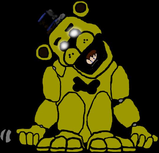 Golden Freddy drawing by kingofbut on DeviantArt