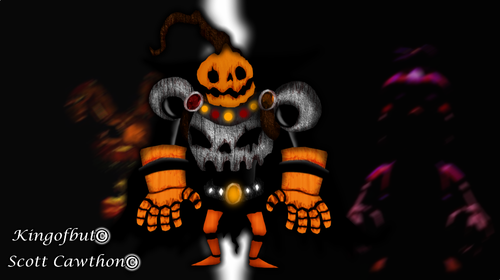 Pumpking by kingofbut