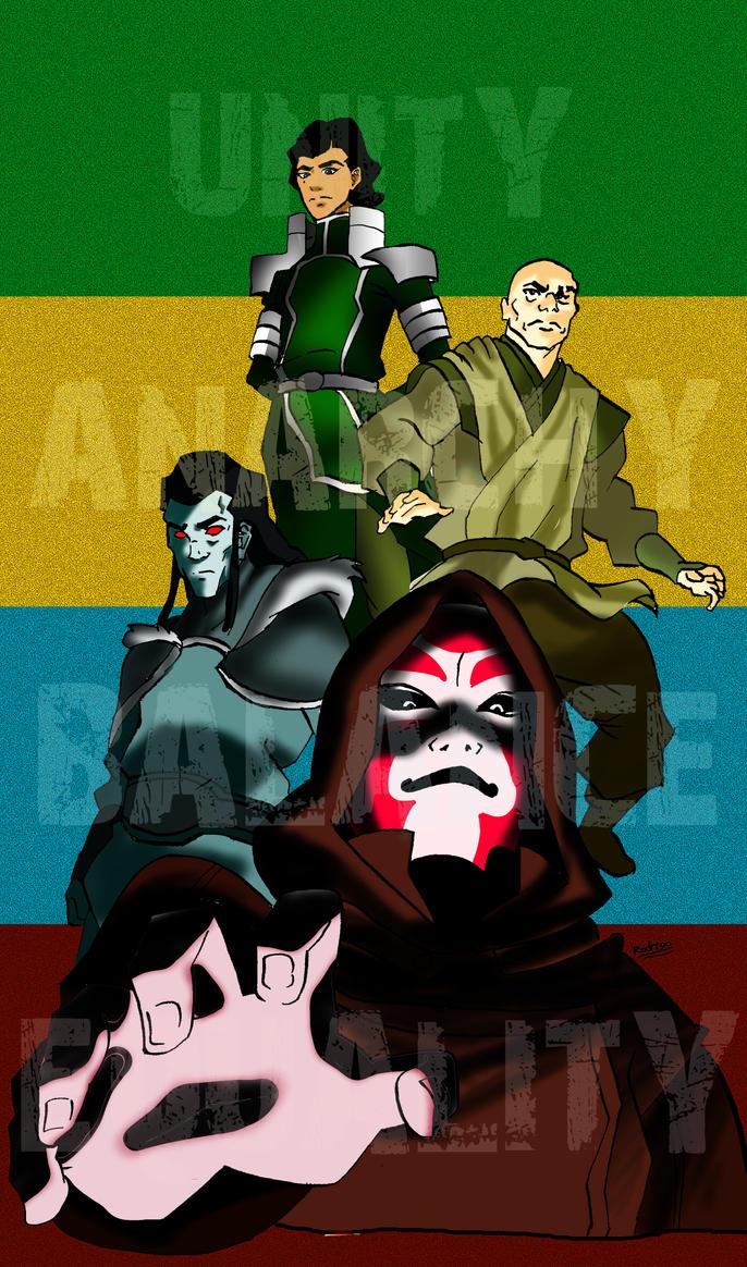 tlok villains by Rodriy