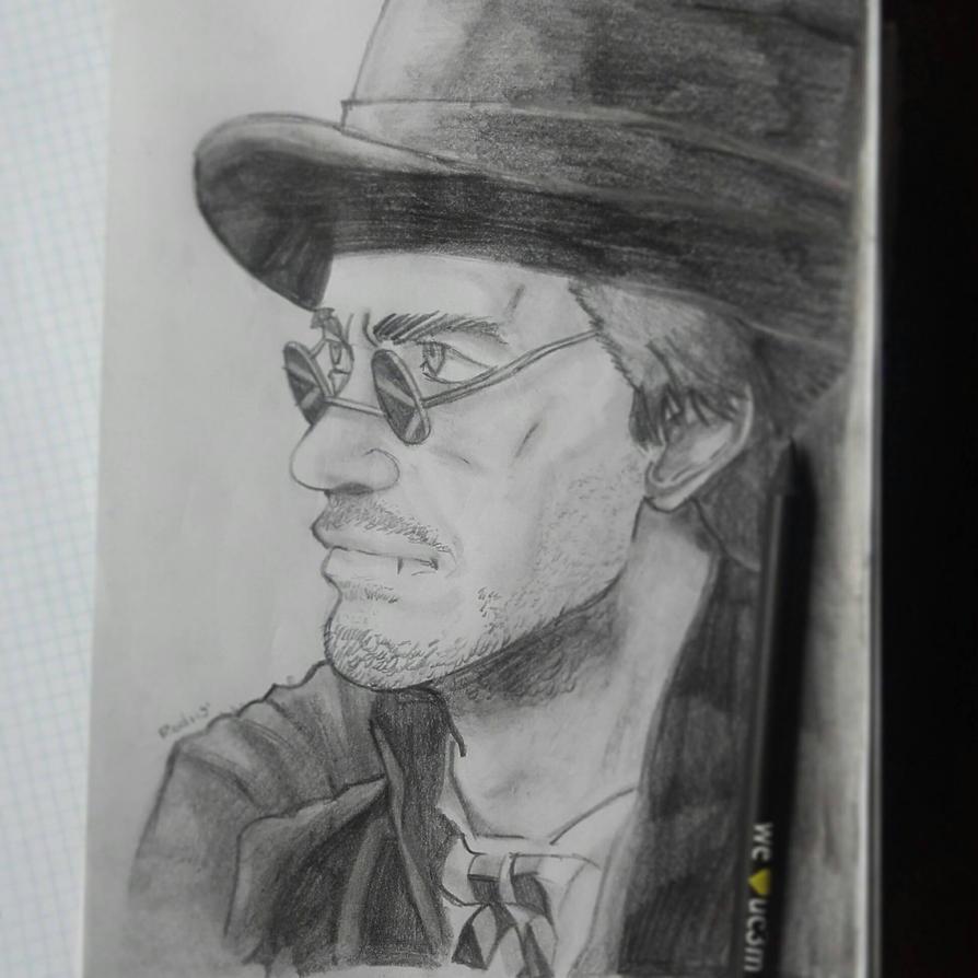 Robert Downey Jr by Rodriy