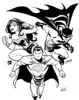 DC Trinity by DaveBullock