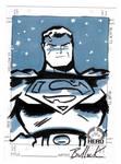 Superman HERO INITIATIVE card