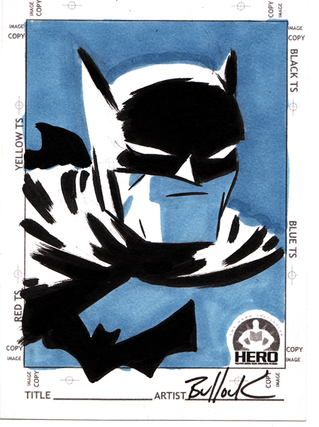 Batman HERO INITIATIVE card by DaveBullock